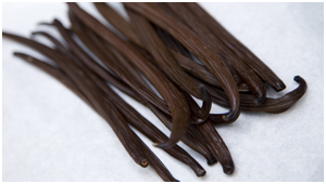 Organic Vanilla pods used in our icecream